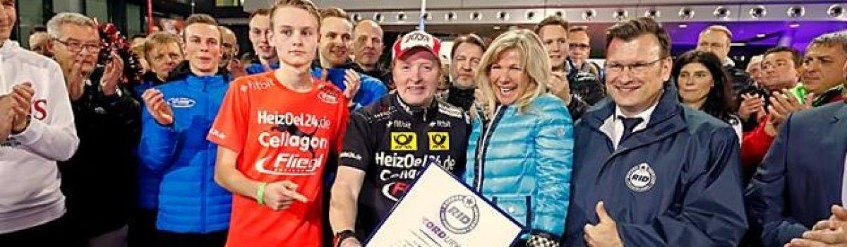 Joey Kelly mit Weltrekord beim RTL-Spendenmarathon