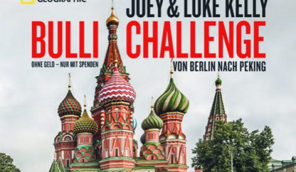 """Buch """"Bulli Challenge – Von Berlin nach Peking"""" erschienen"""