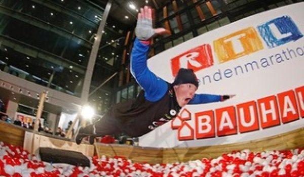 Weltrekord beim Spendenmarathon